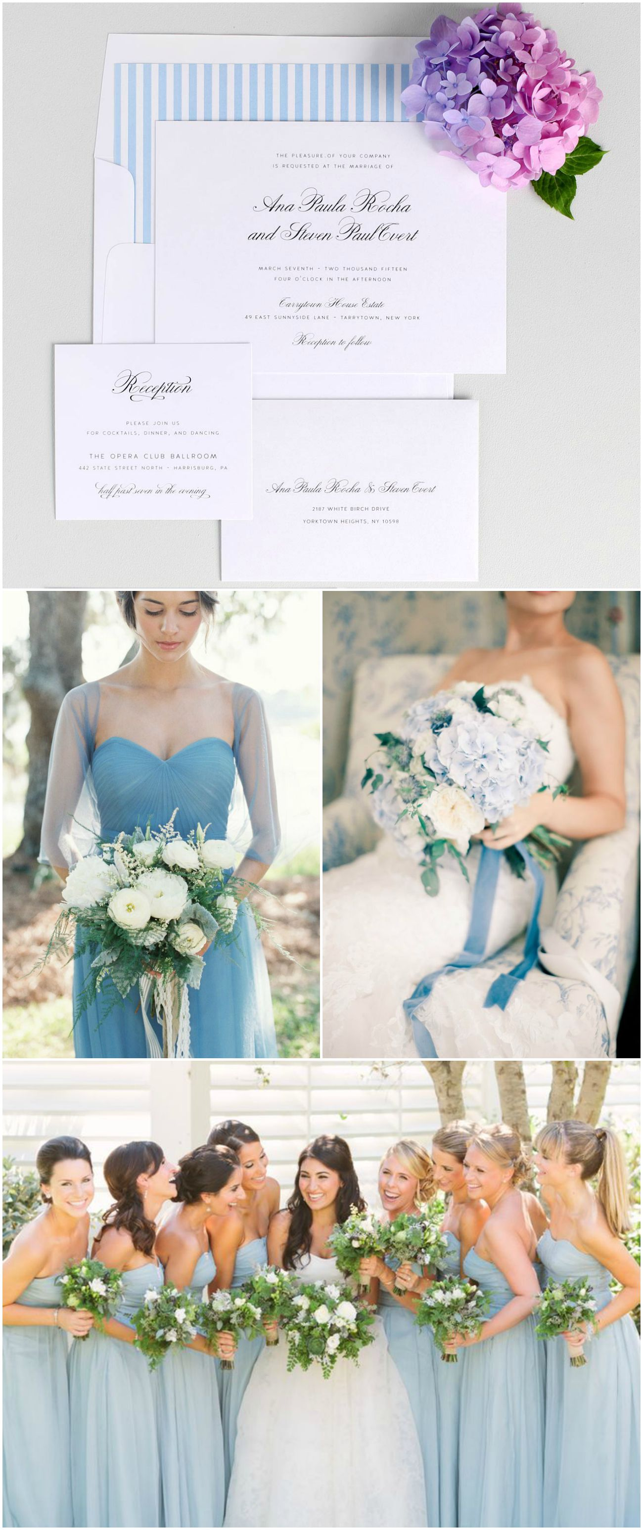 Sky Blue Wedding Inspiration