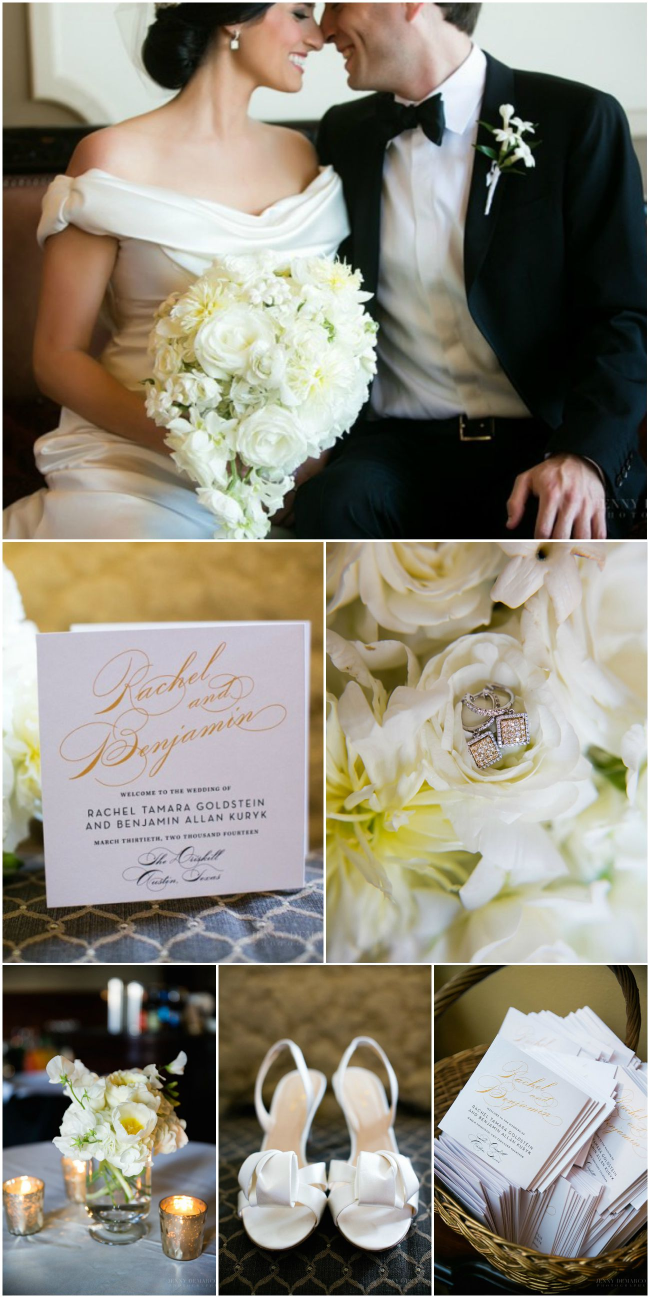 Glamorous Gold Real Wedding