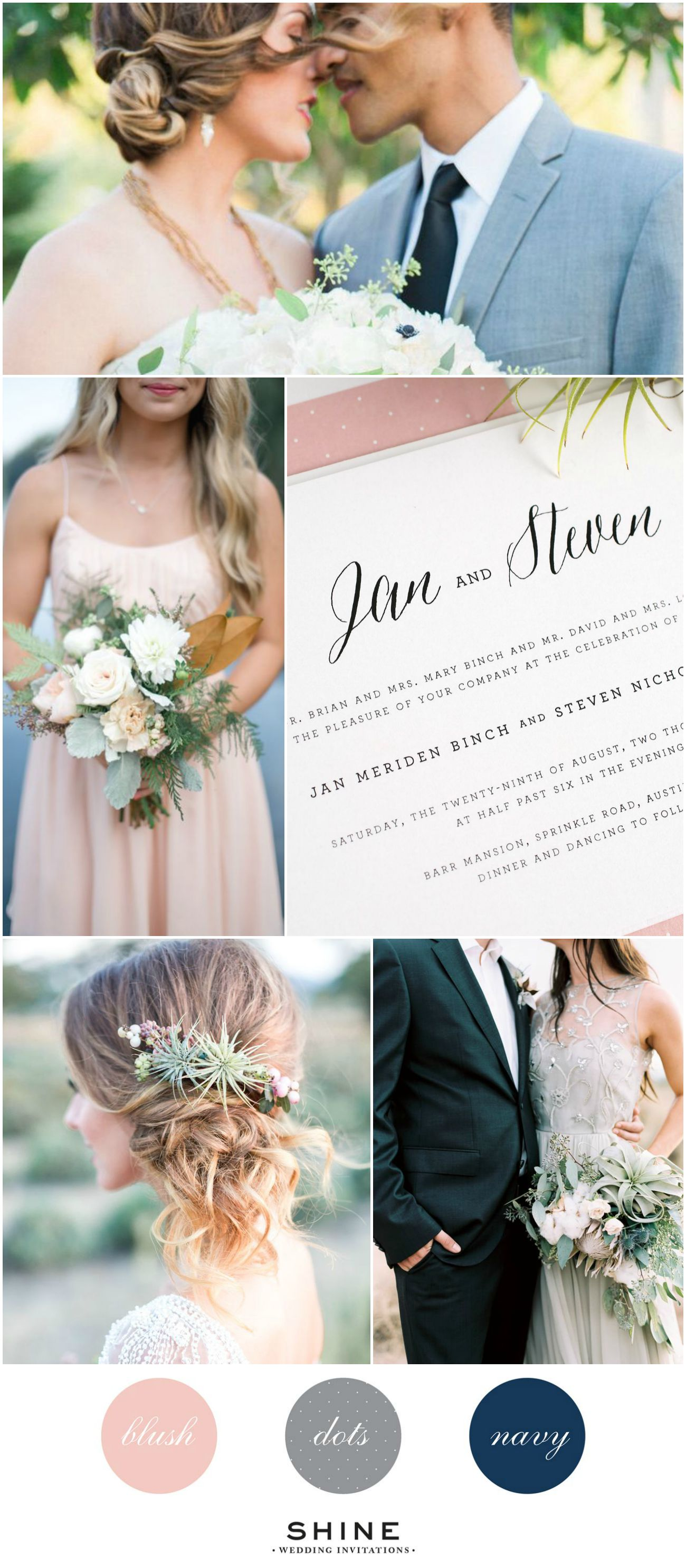 Blush Romance Wedding Inspiration