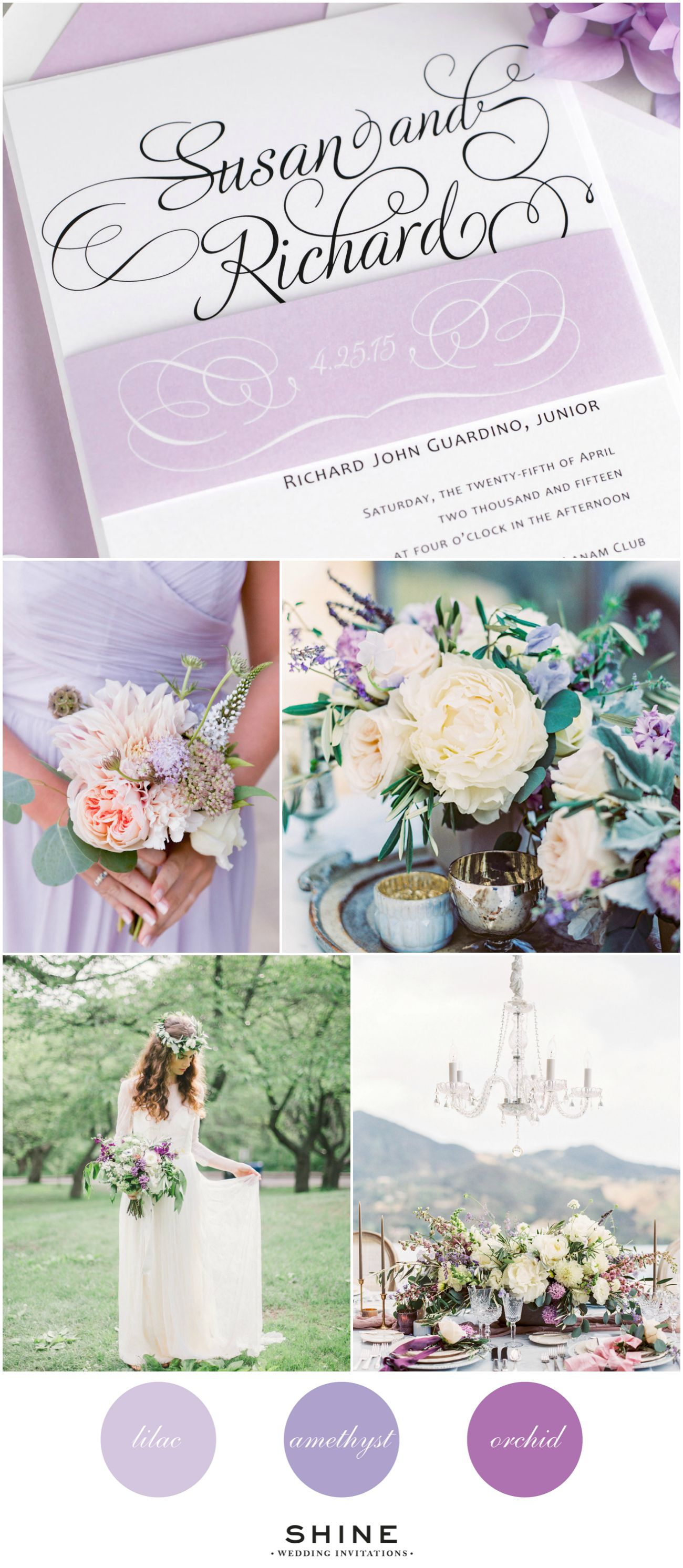 Whimsical Purple Wedding Inspiration