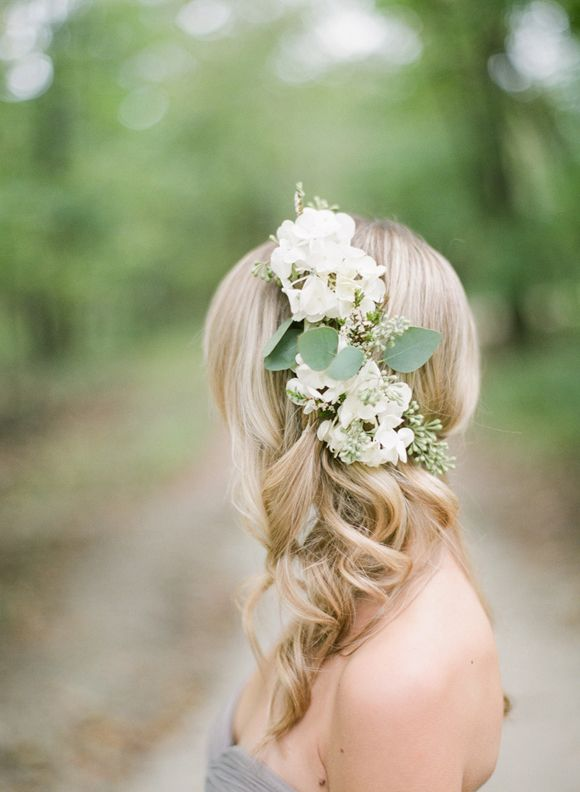 Hydrangea Flower Crown