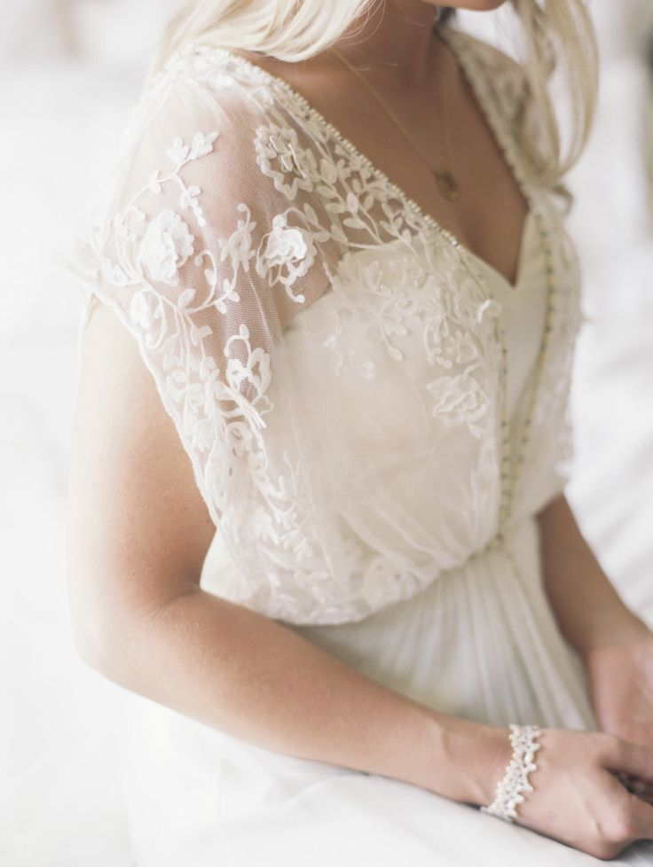 Wedding Dress with delicate lace details