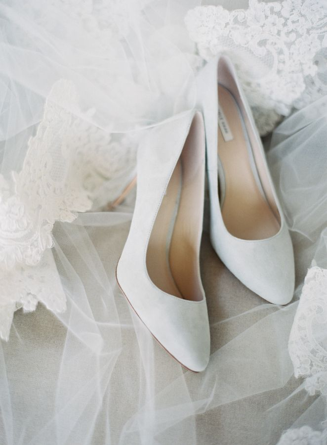 Light Gray Wedding Shoes