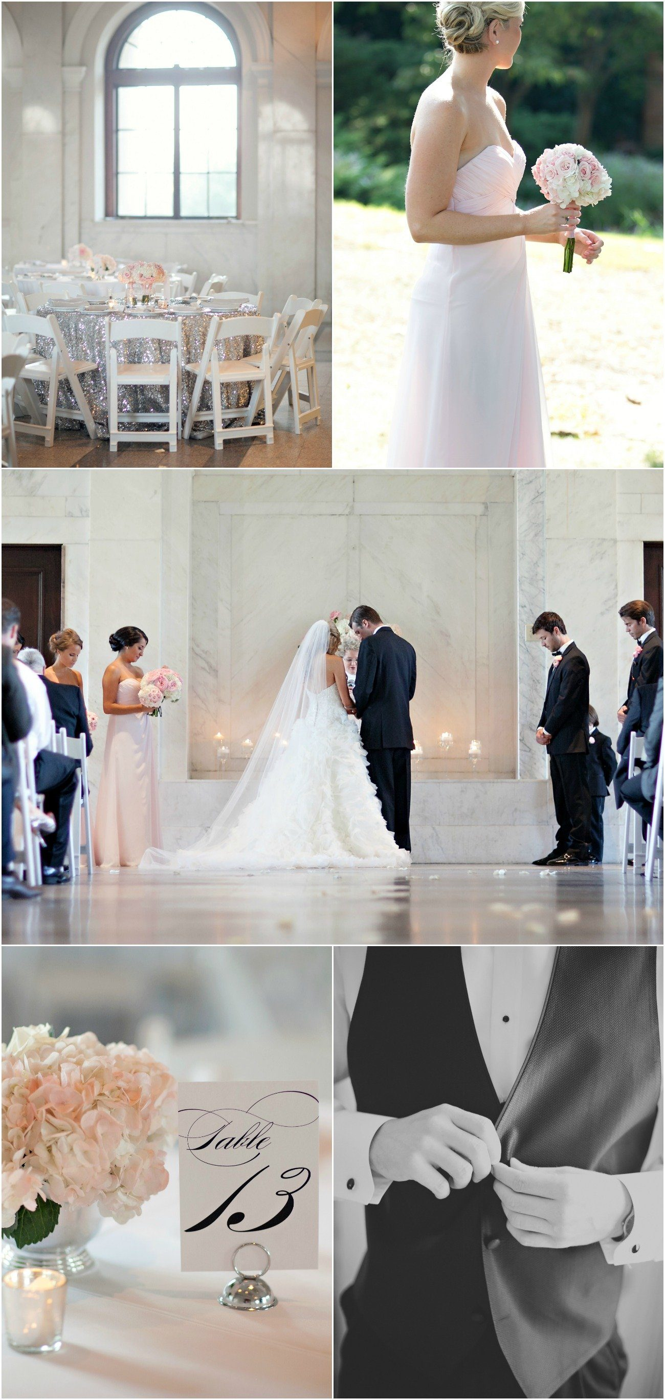 Marie + Jason - Glam Pink and Silver Real Wedding