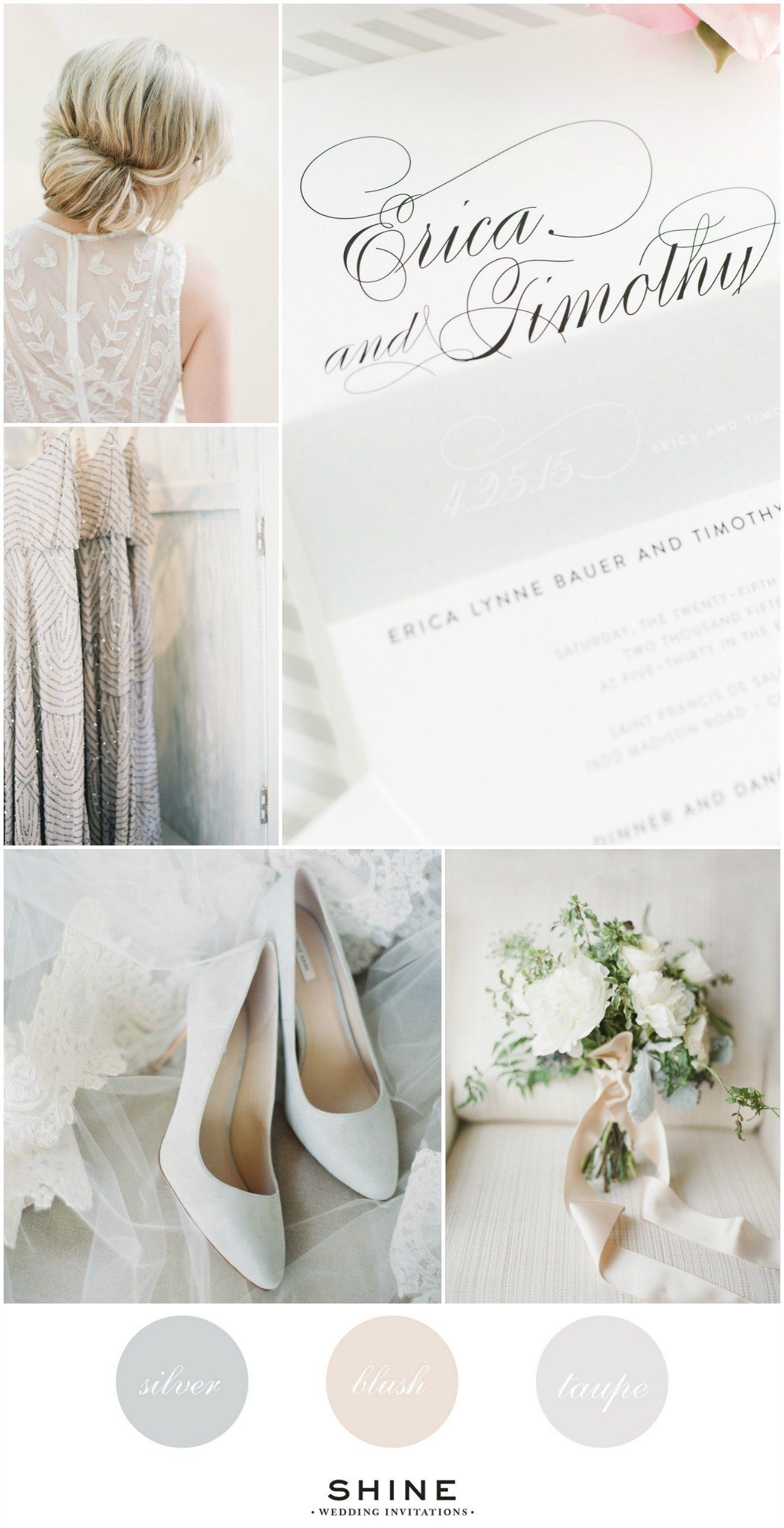 Silver Wedding Inspiration