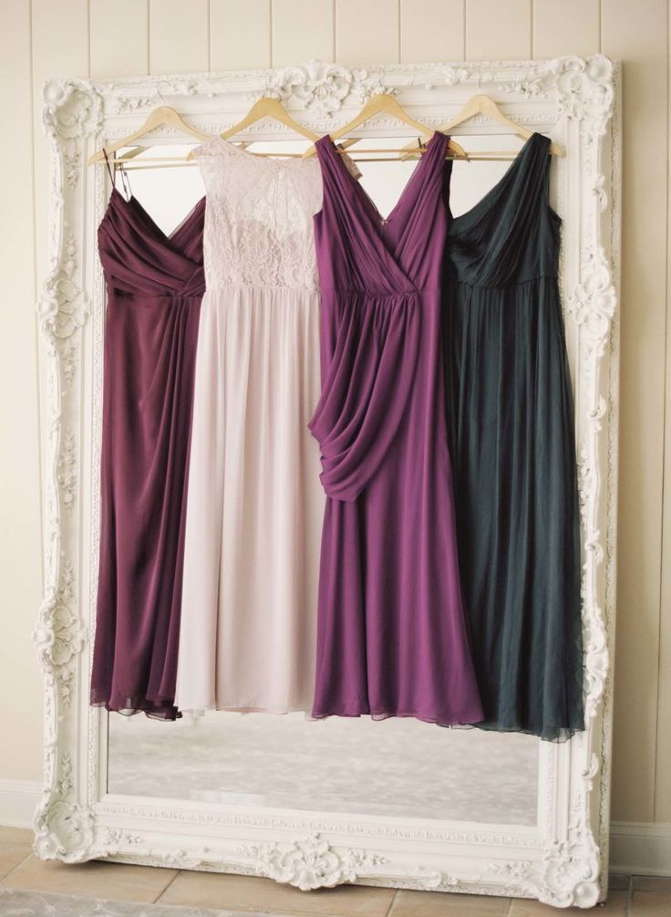 Jewel Tone Bridesmaids Dresses