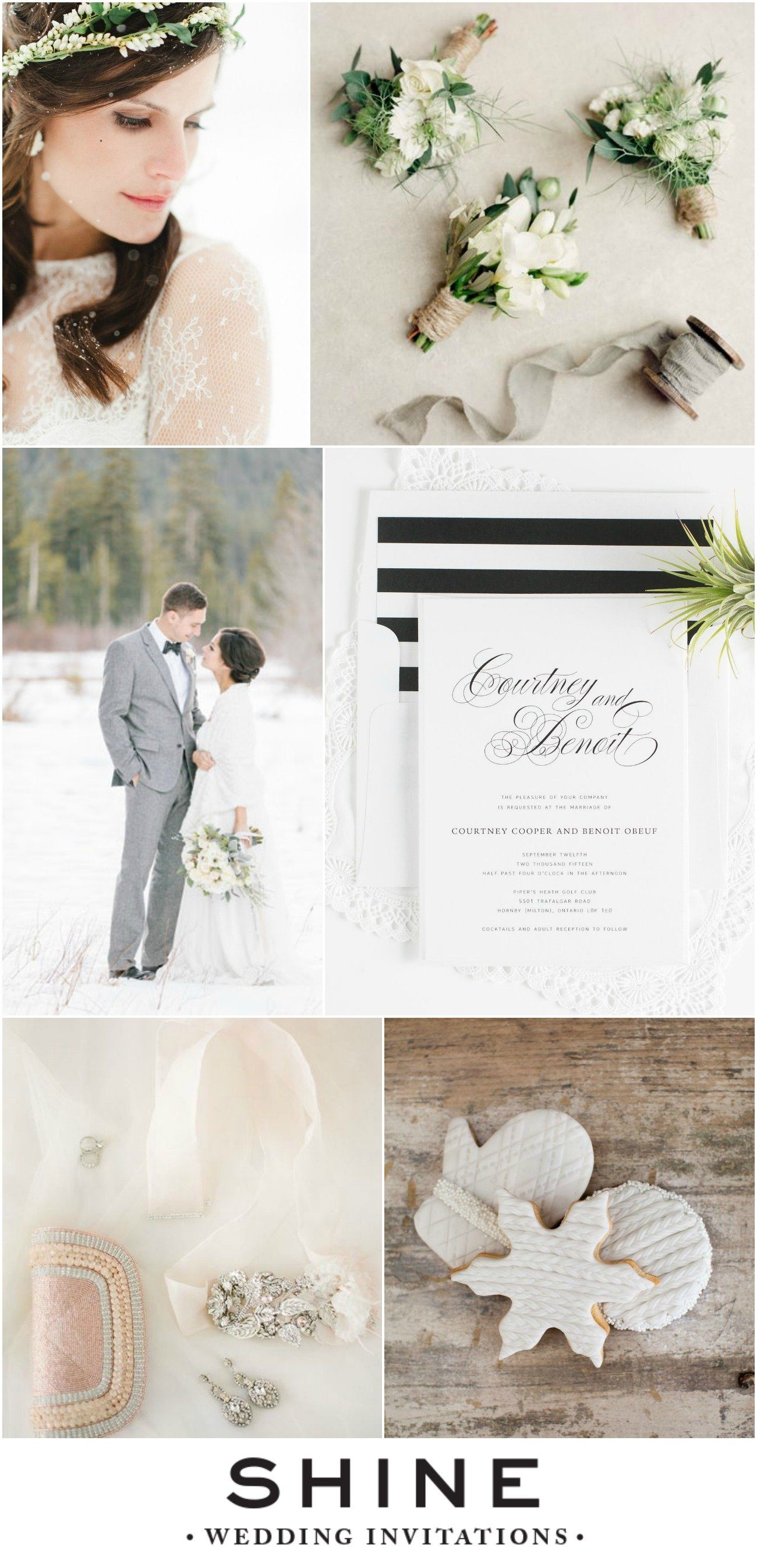 Winter White Wedding Inspiration