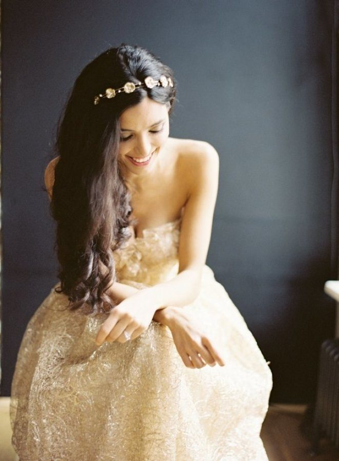 Gold Wedding Dress
