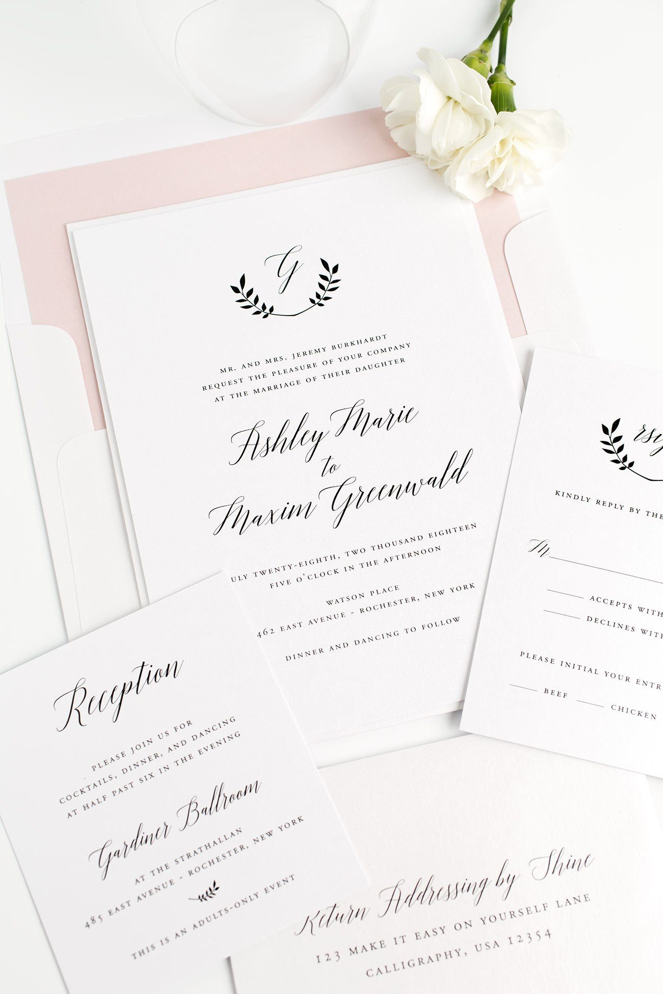 Search Results for monogram Wedding Invitations – Wedding Invitations with Monogram