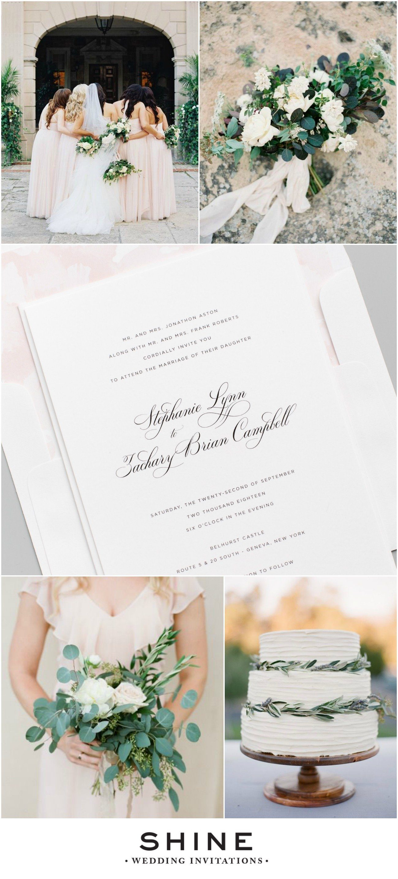 Natural Elegance Wedding Inspiration