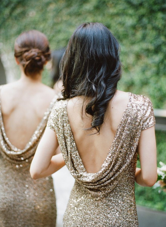Rebecca Yale Photography - Gold Bridesmaids Dress
