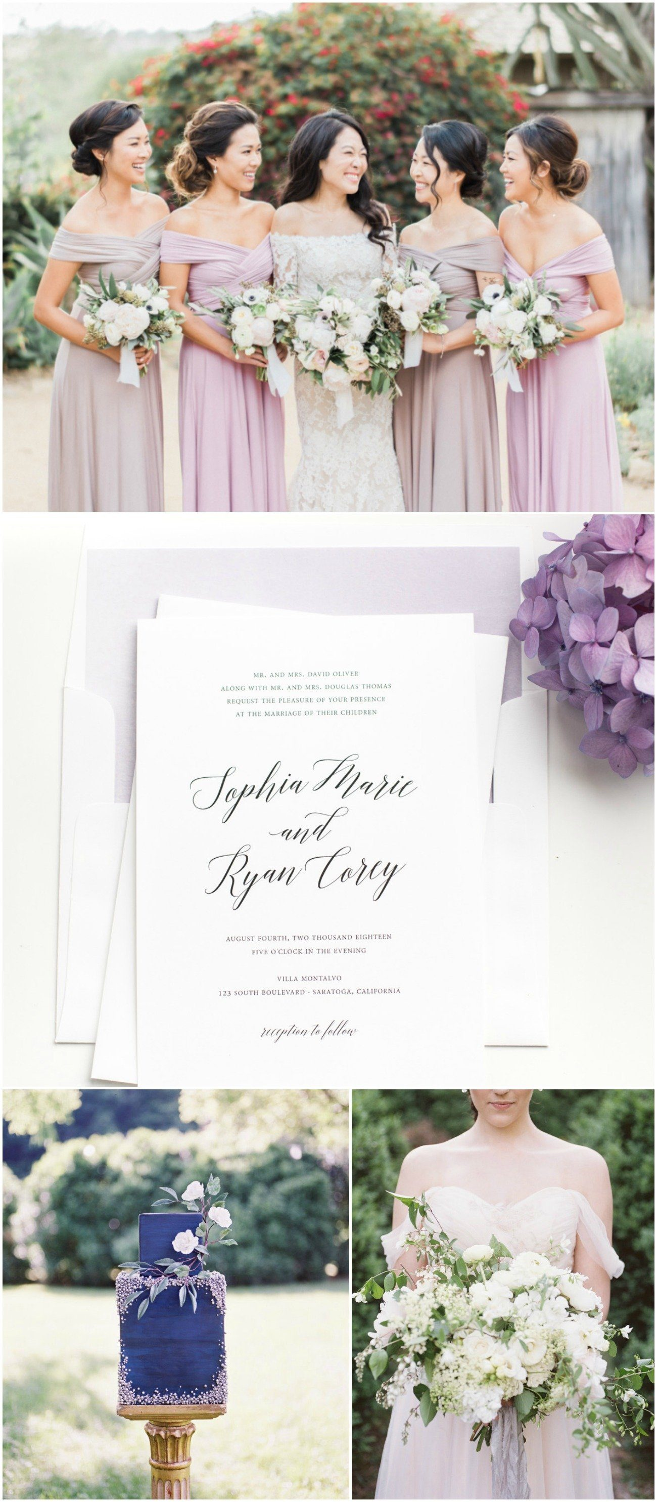 Purple Romantic Wedding Inspiration