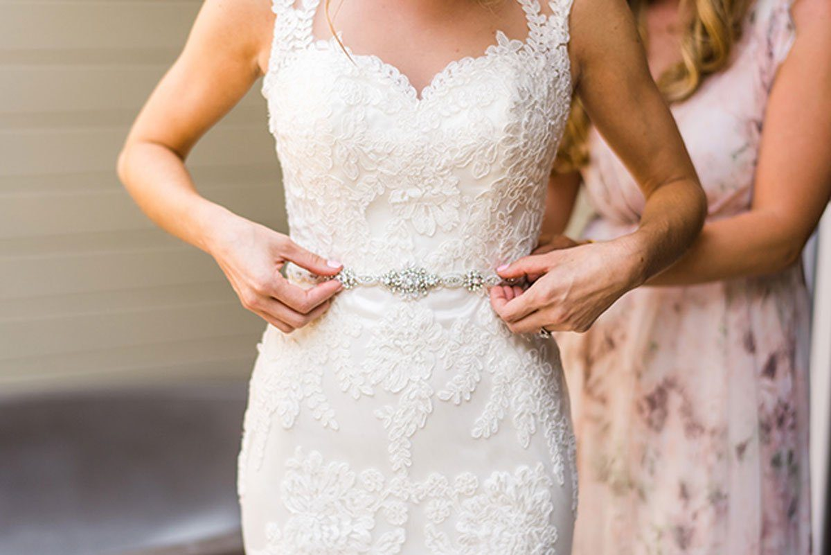 Bride Lace Wedding Dress