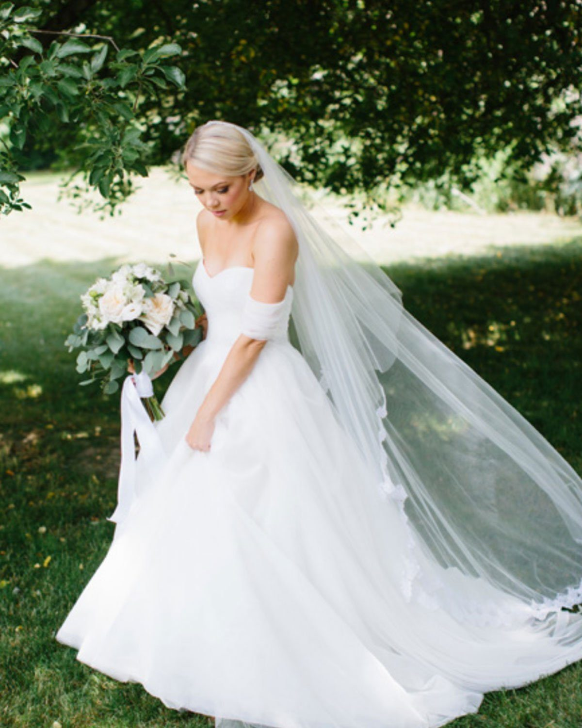 Dusty Blue Garden Wedding
