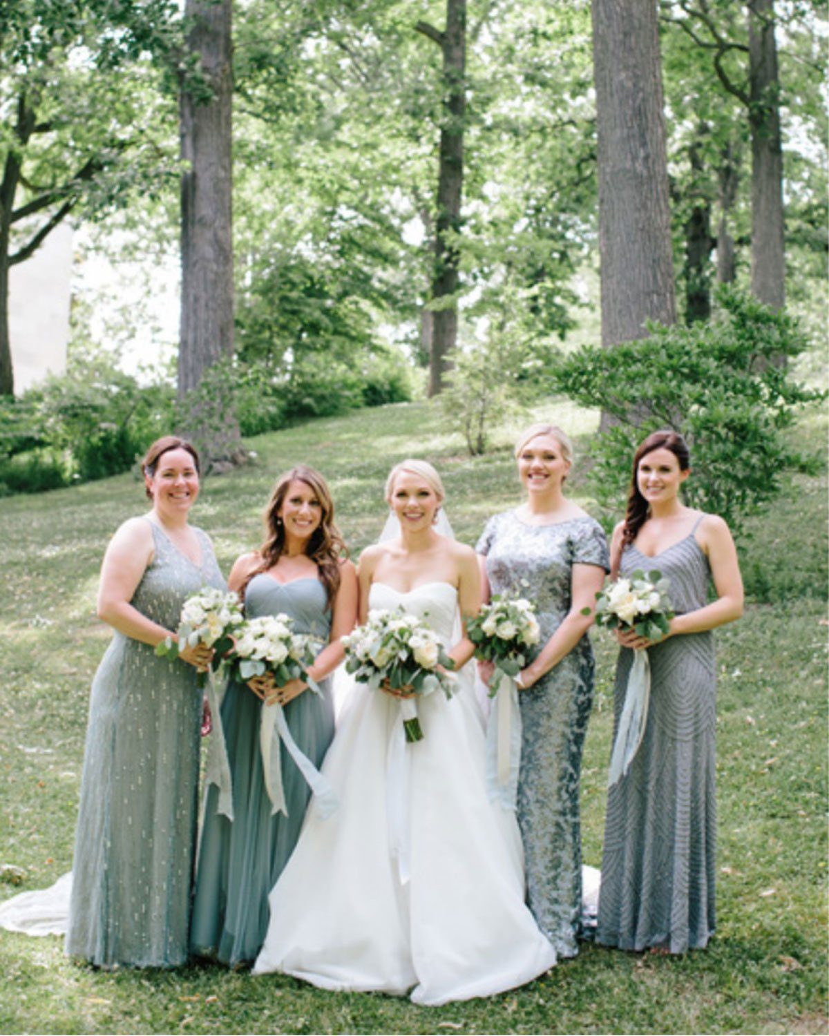 Dusty Blue Bridesmaids