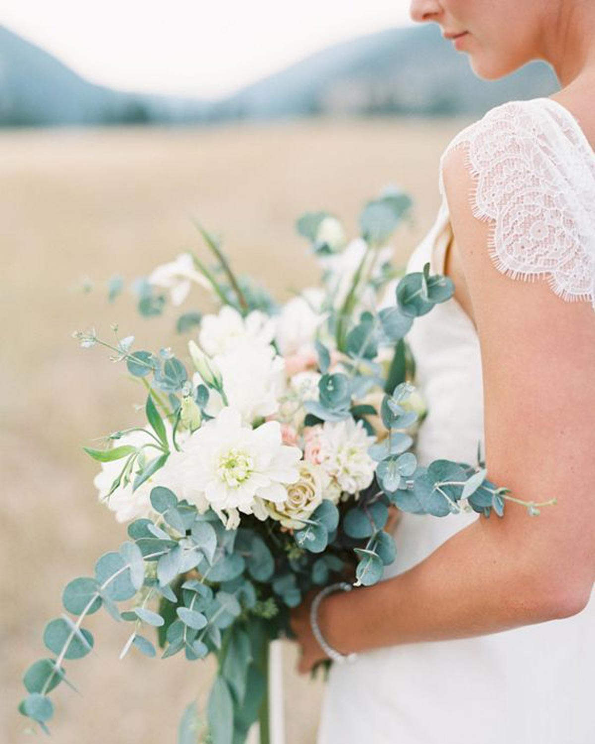 Greenery Wedding Inspiration Bouquet