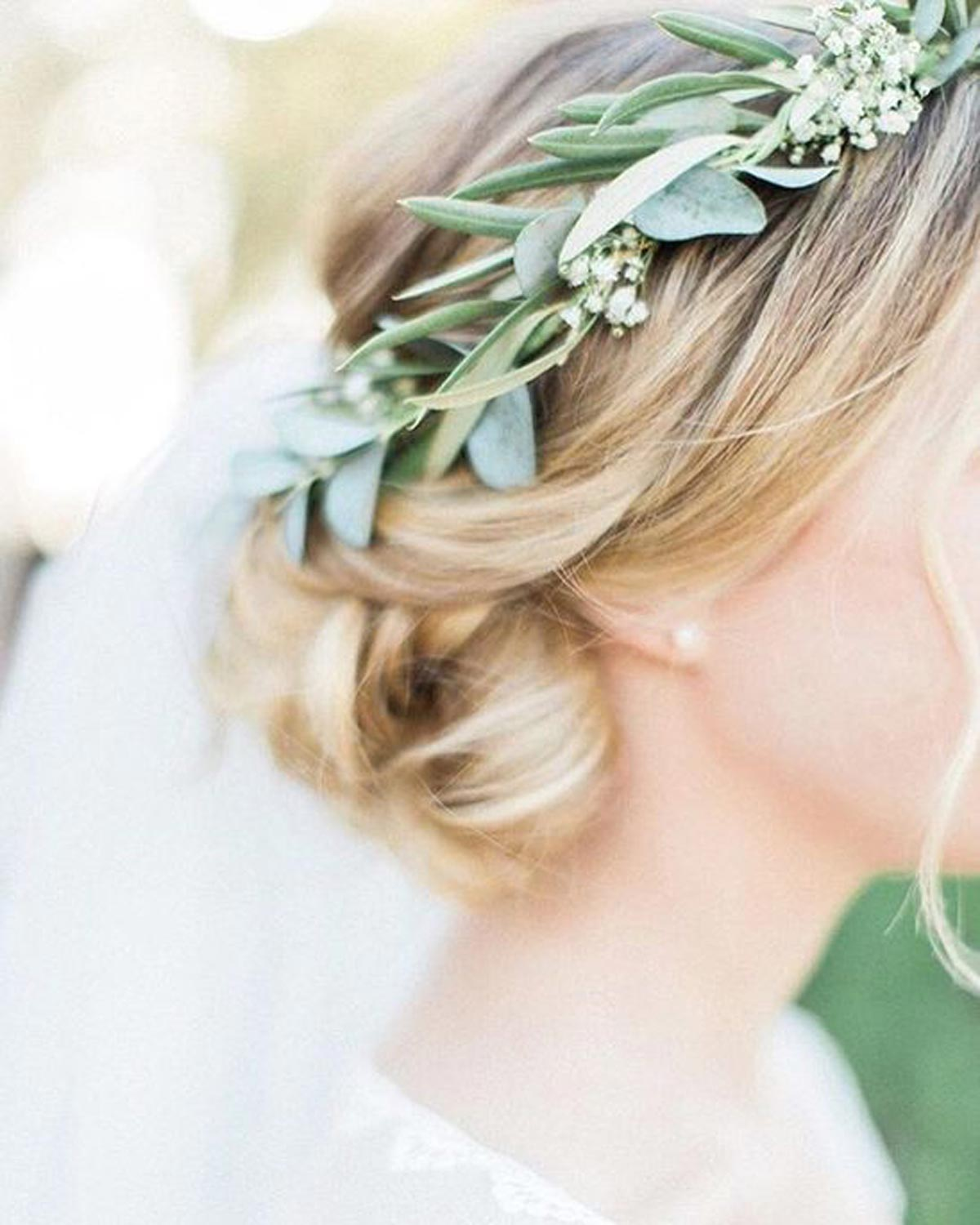 Wedding Greenery Floral Crown