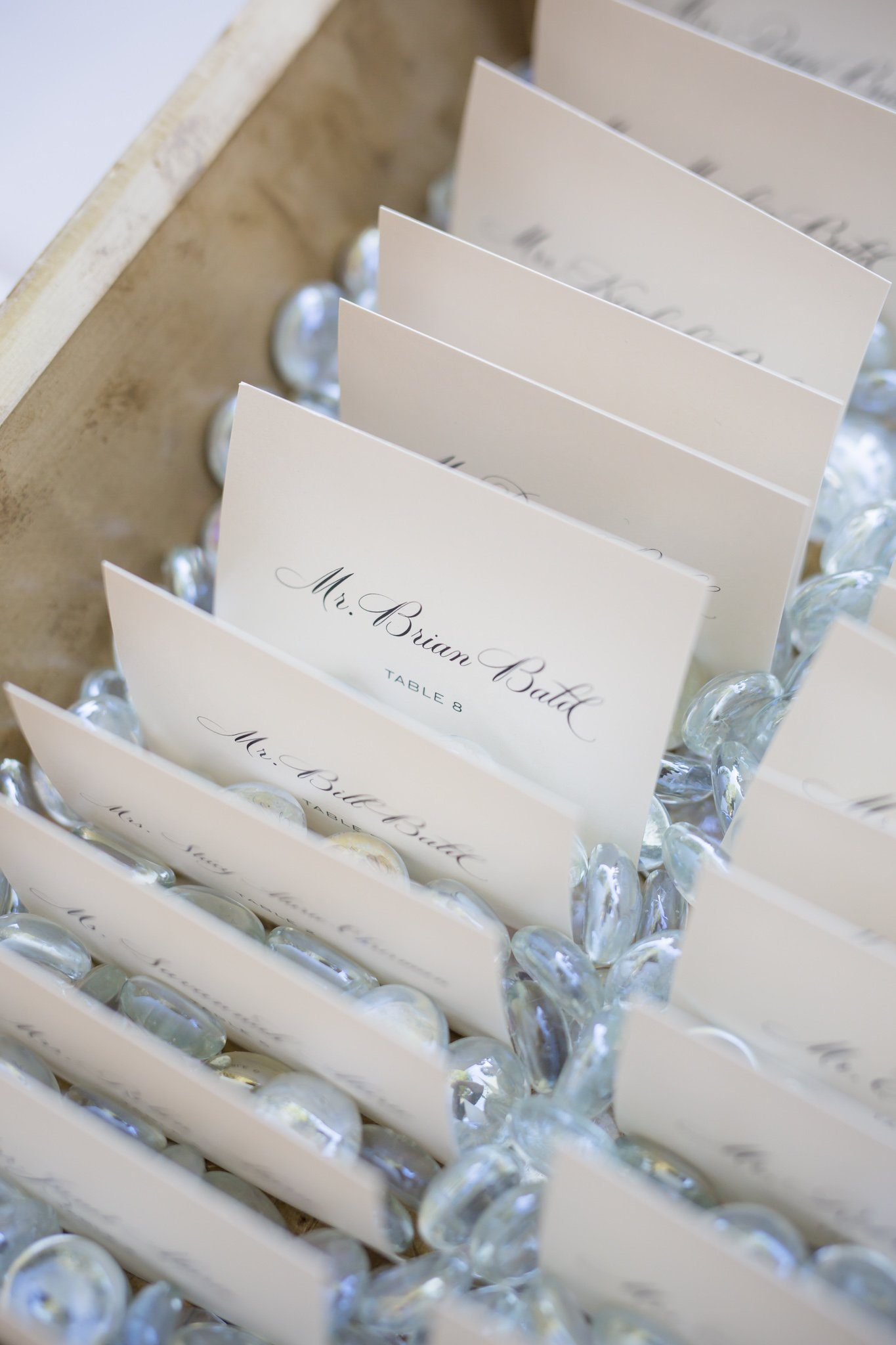 Emily & Anthony's Place Cards