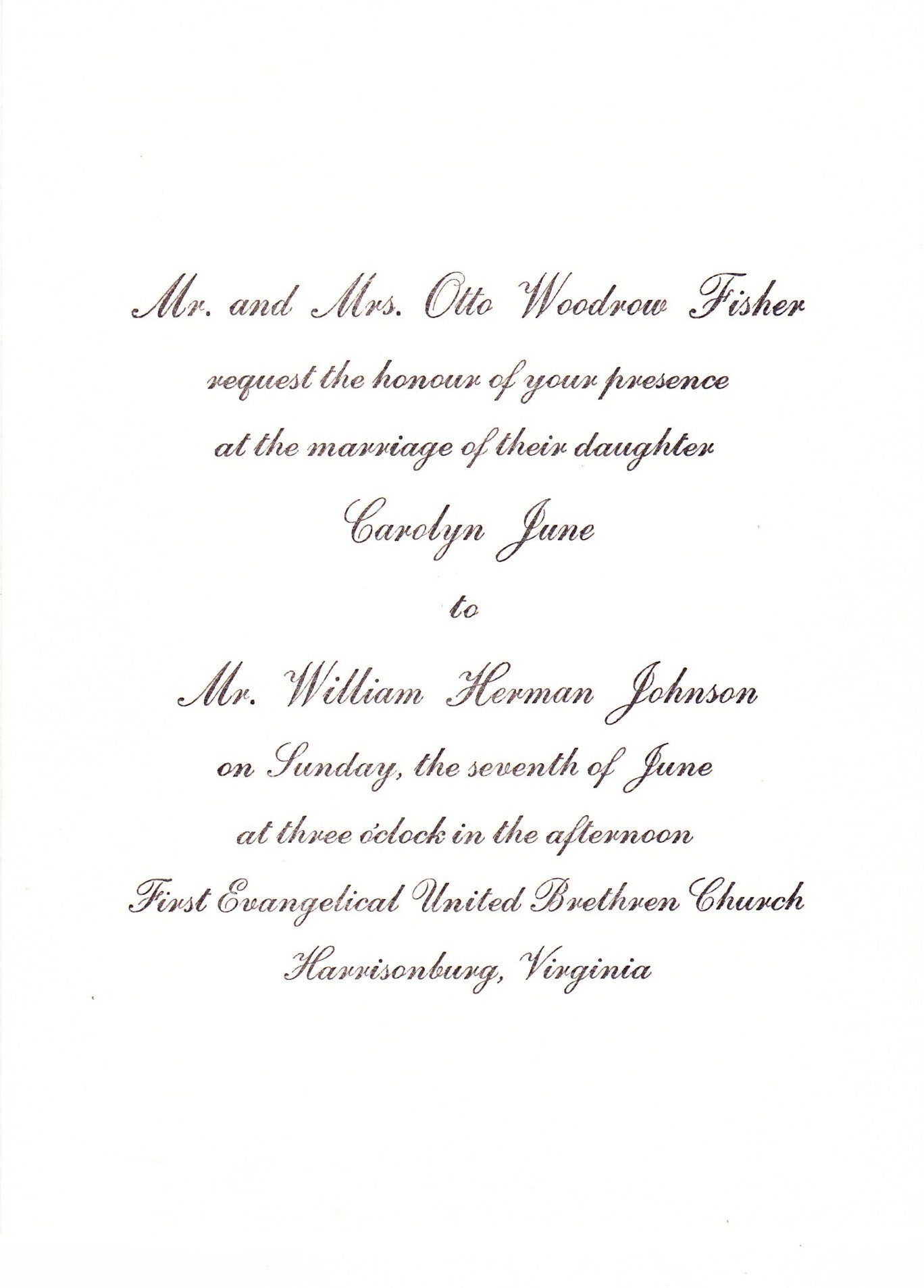 1960s: A Brief History of Wedding Invitations – Wedding Invitations