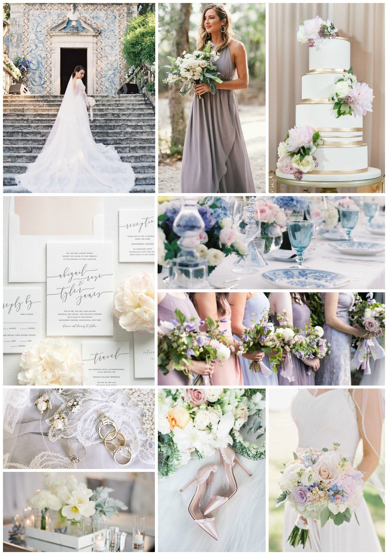soft and romantic pastel wedding inspiration