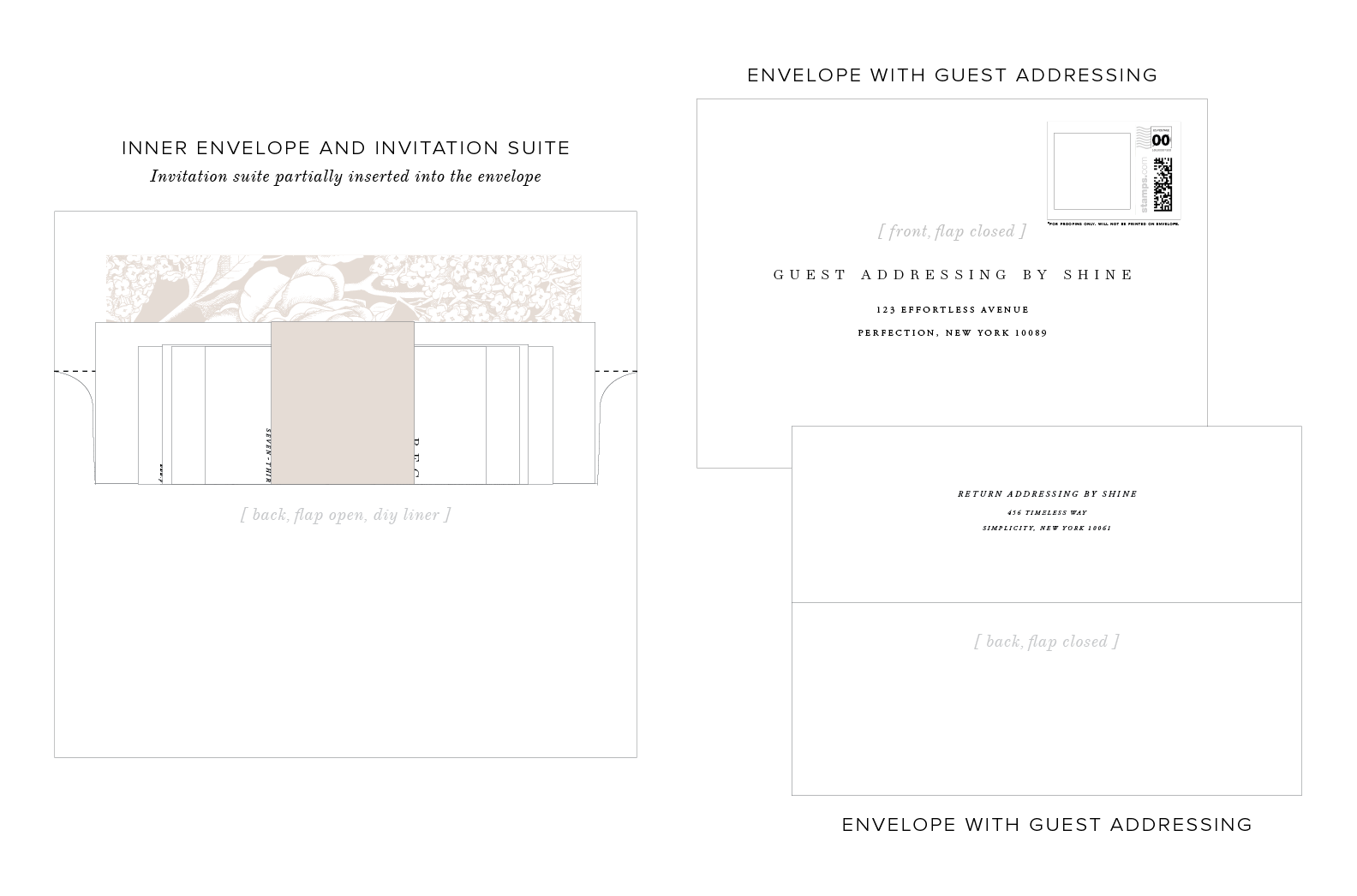 Guest Addressing for your Wedding Invitations | Shine Wedding ...