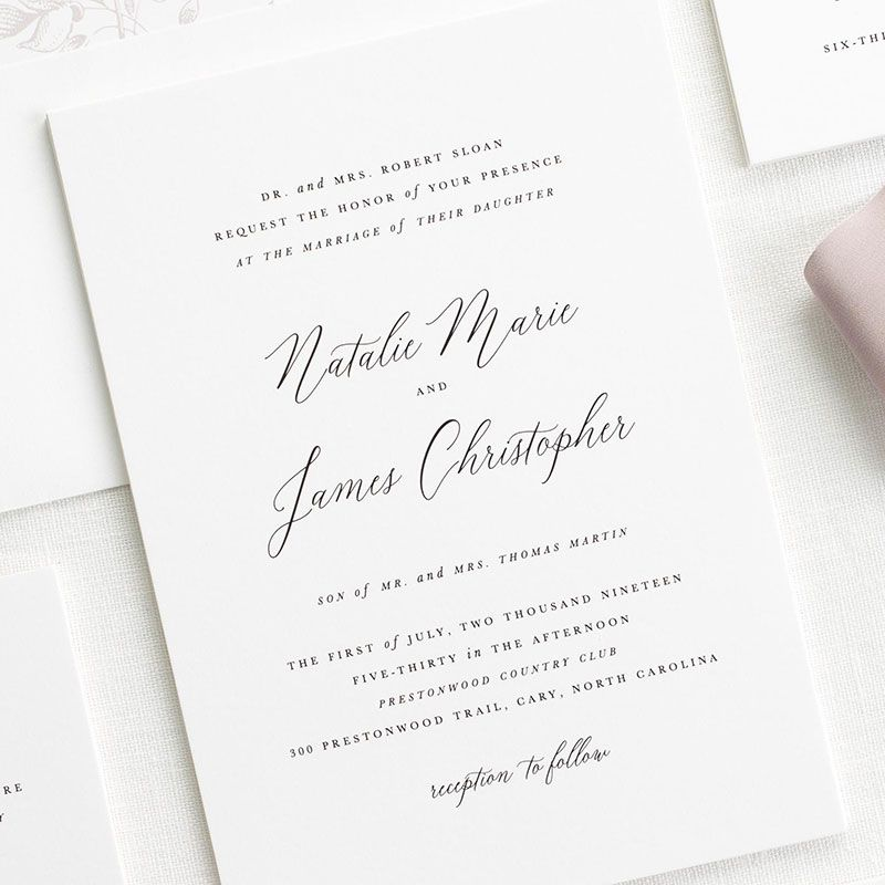 Free wedding invitation samples shine wedding invitations word your wedding invitations the right way using proper etiquette stopboris Choice Image