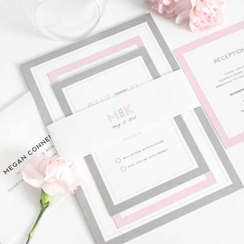 Wedding Invitations | Modern Wedding Invitations, Wedding ...