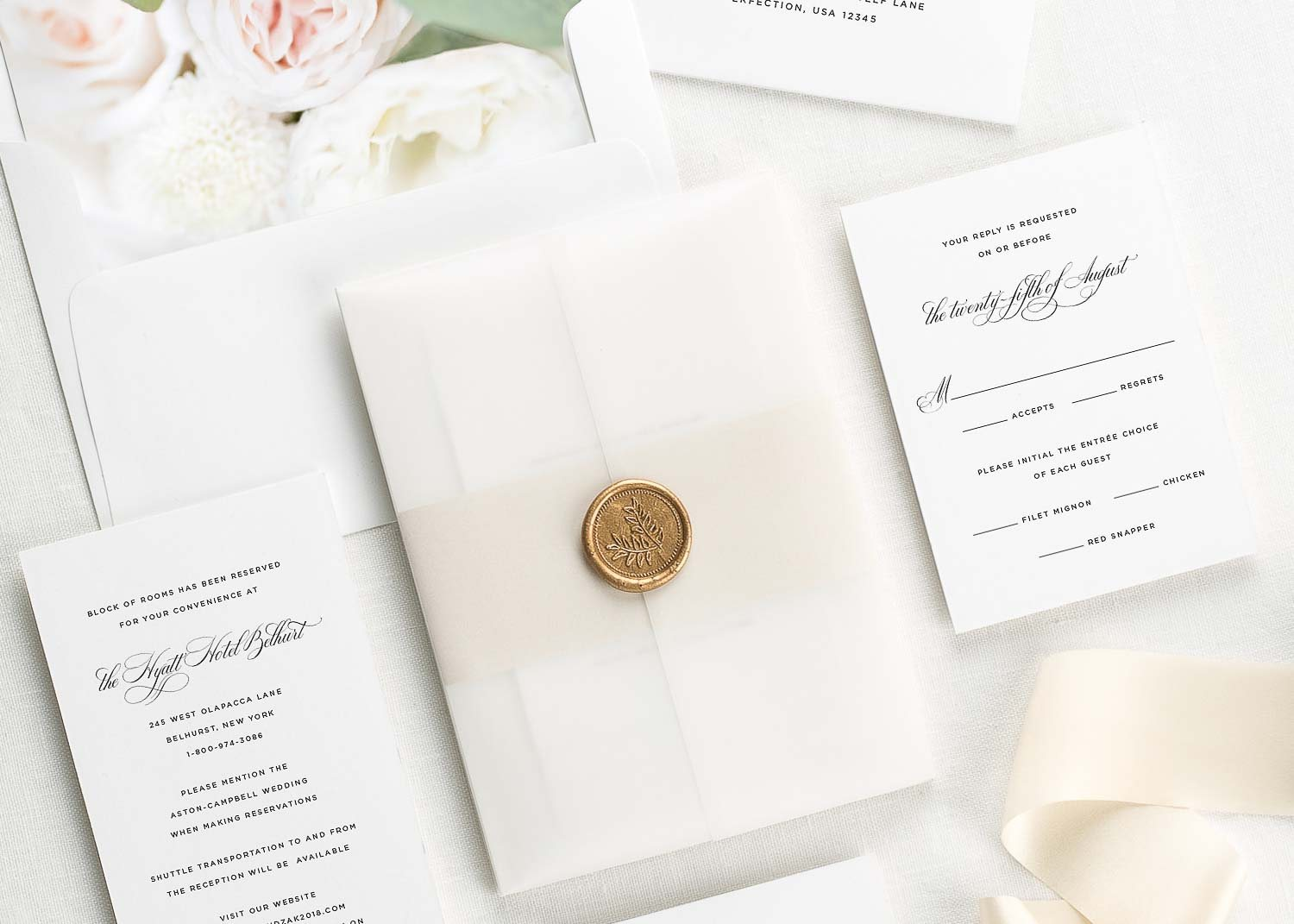 Wedding Invitations | Modern Wedding Invitations, Wedding Programs ...