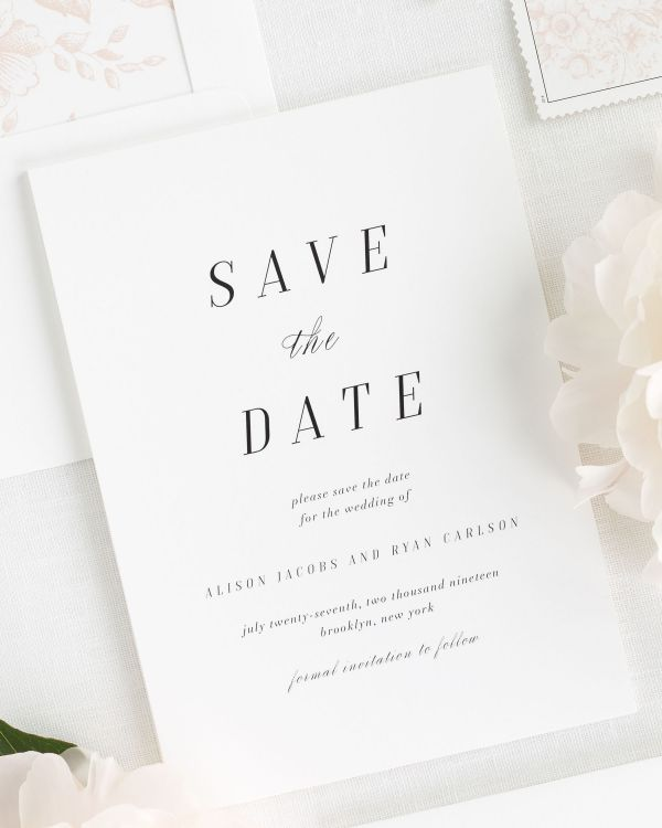 Alison Save the Date Cards