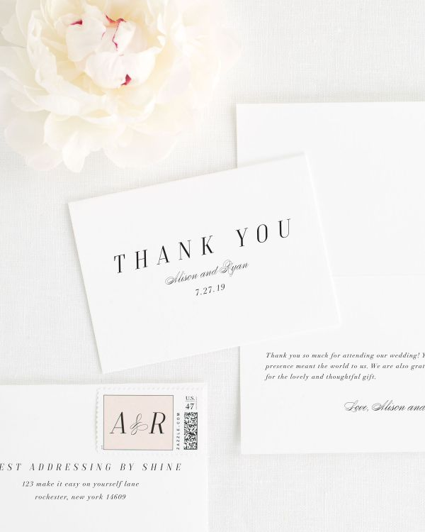 Alison Thank You Cards