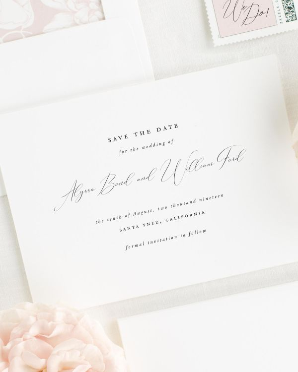 Alyssa Save the Date Cards