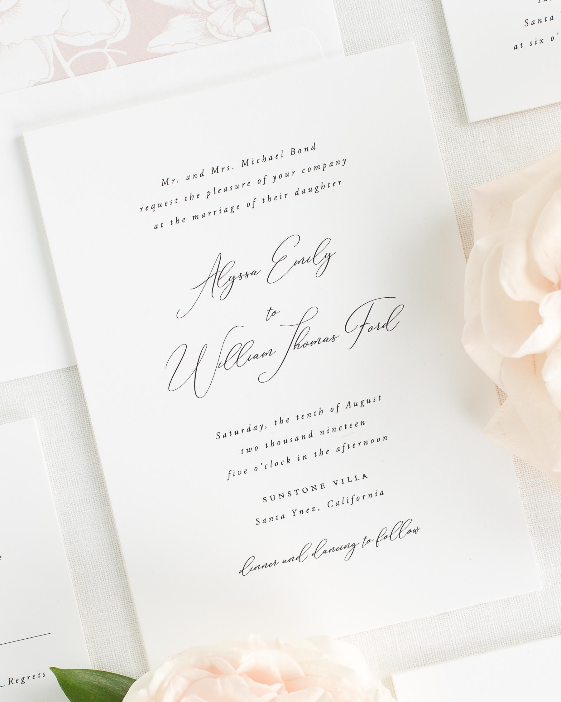 Alyssa Wedding Invitations