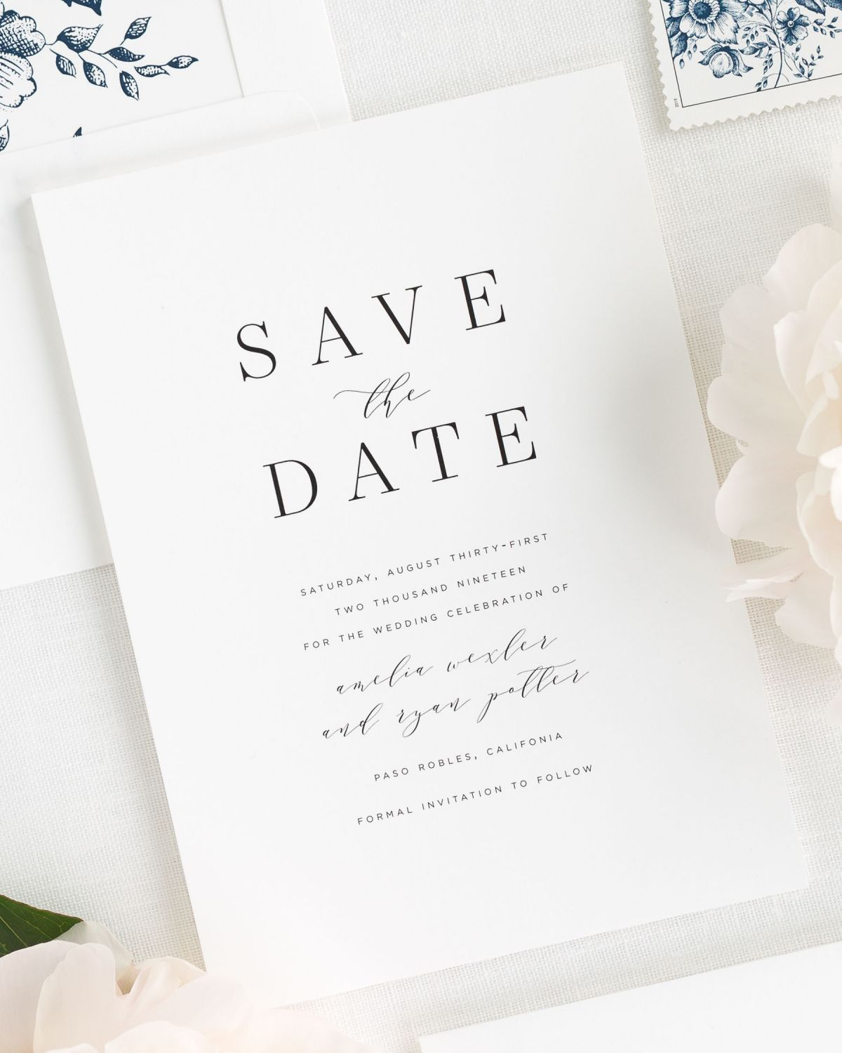 Save The Date Cards By Shine