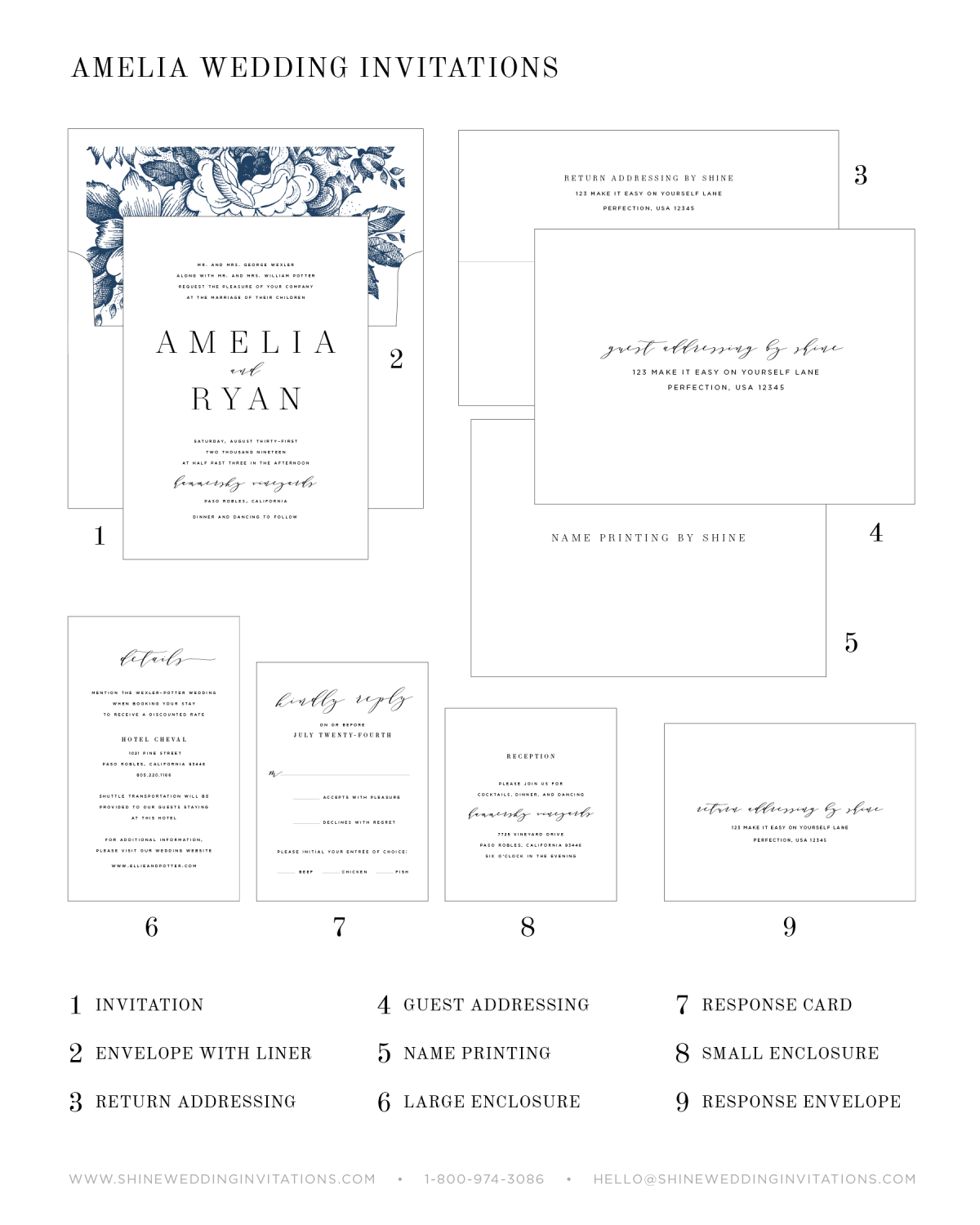 Wedding Invitation Components