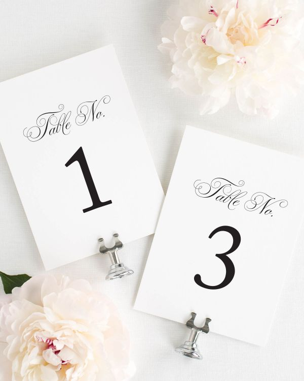 Angelic Script Table Numbers