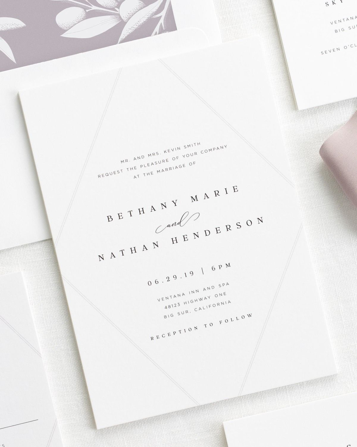 Bethany Wedding Invitations