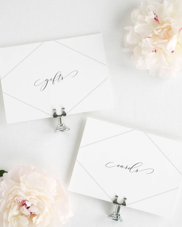 Bethany Wedding Signs Package