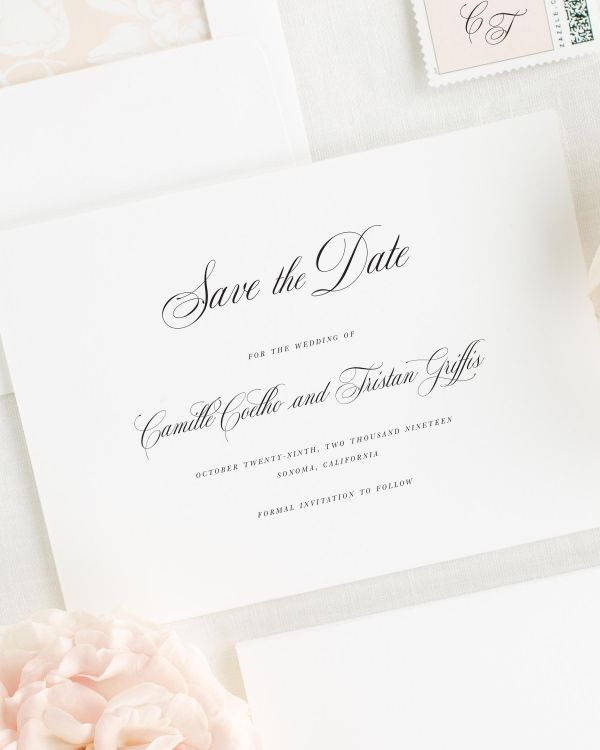 Camille Save the Date Cards