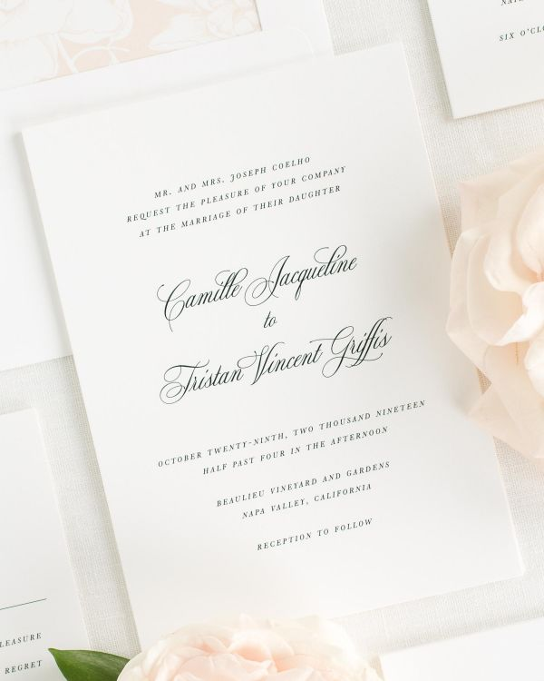 Camille Wedding Invitations