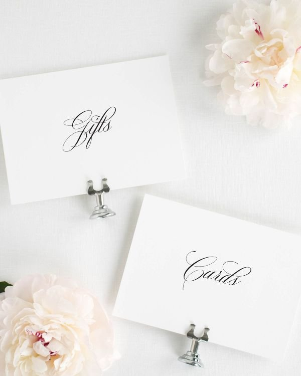 Camille Wedding Signs Package