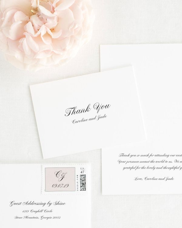 Caroline Thank You Cards