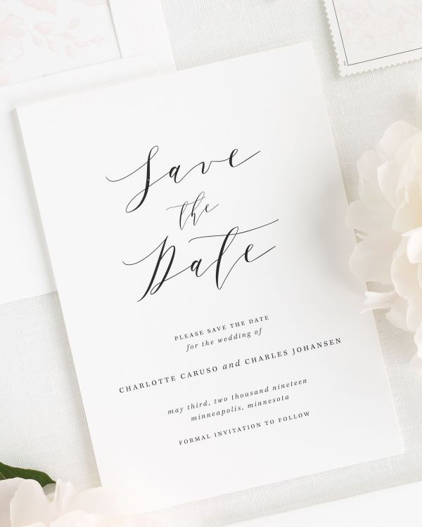 Charlotte Save the Date Cards