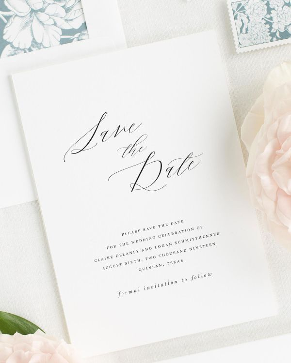Claire Save the Date Cards