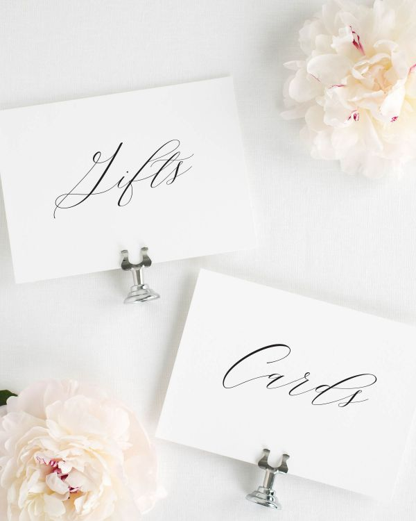Claire Wedding Signs Package