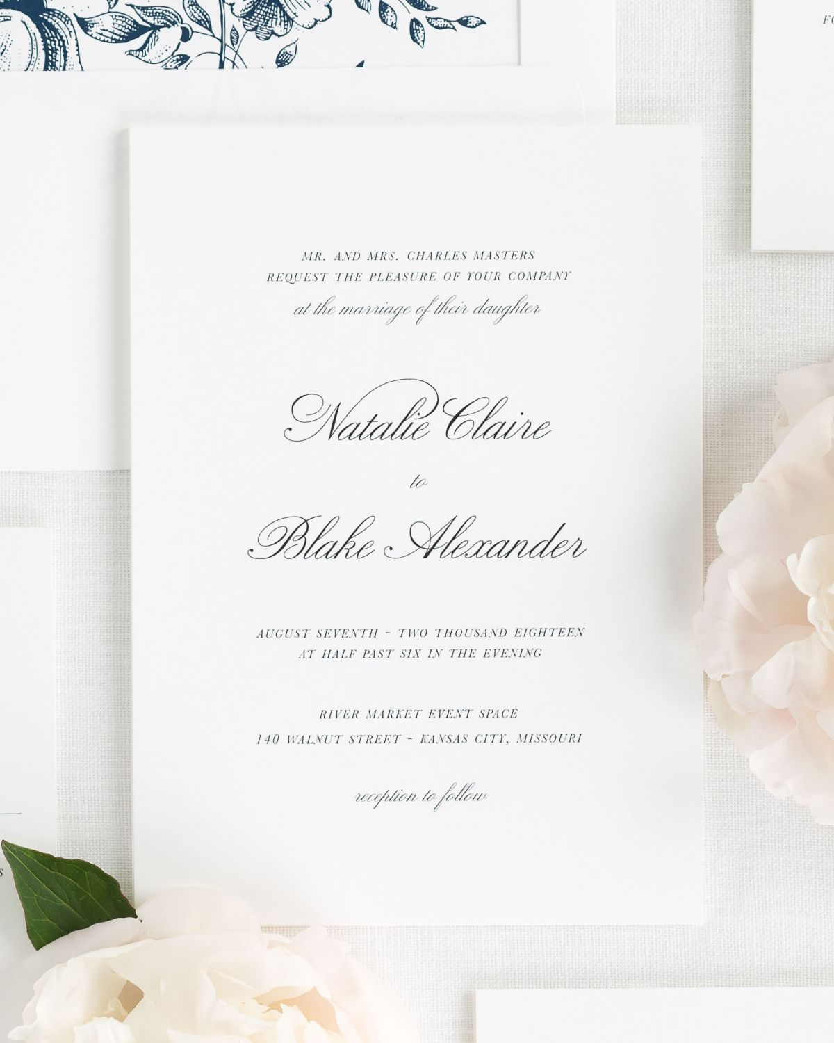 Wedding Invitations Classic