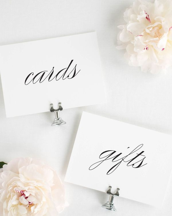 Classic Urban Wedding Signs Package