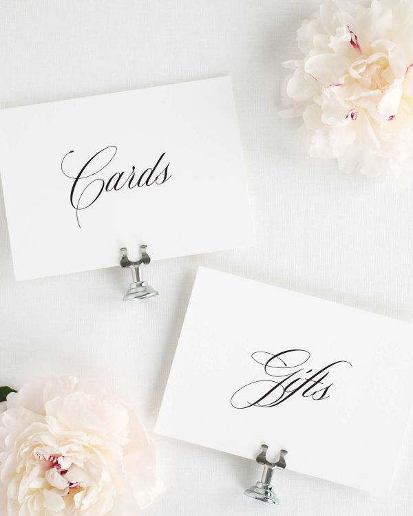 Danielle Wedding Signs Package
