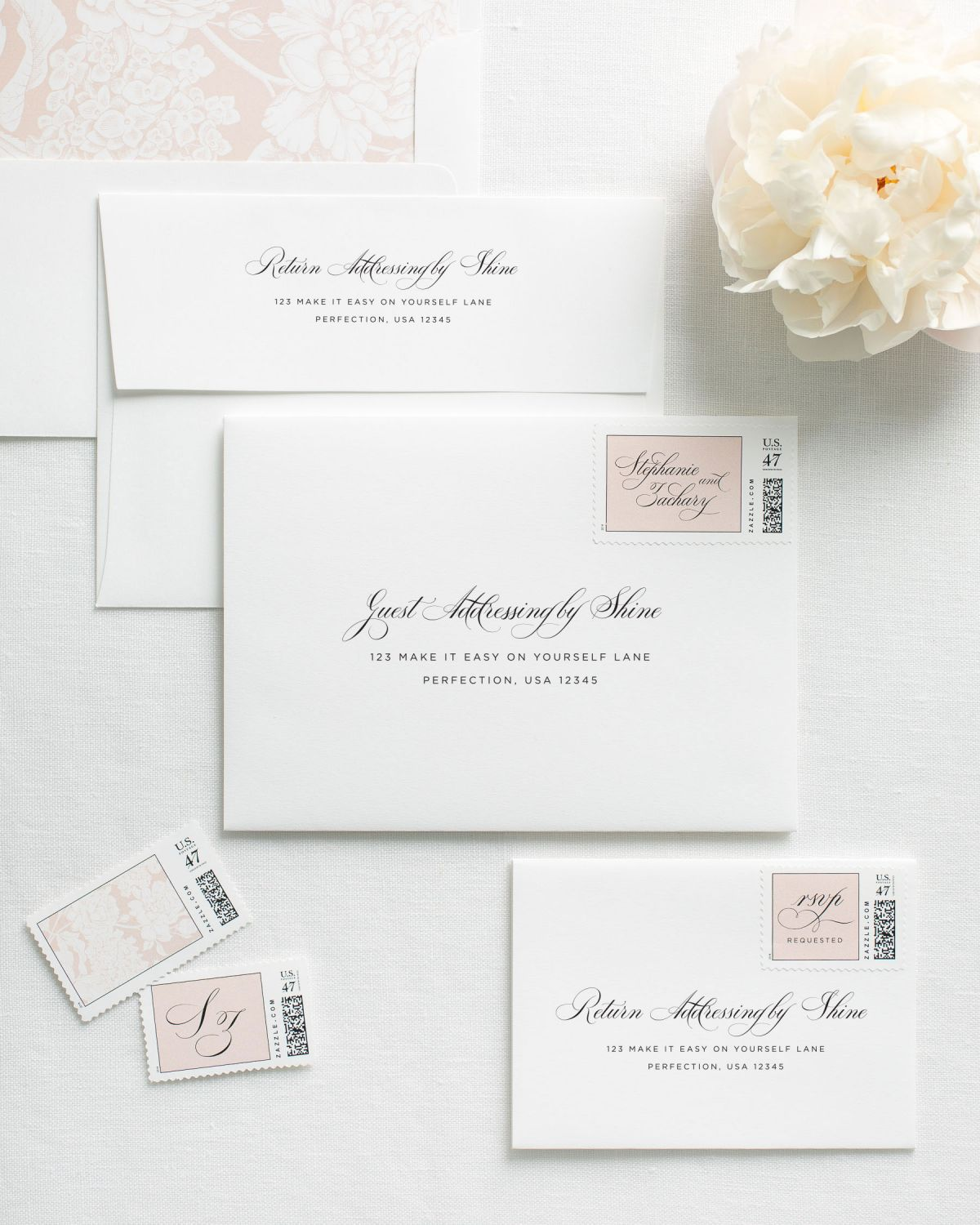 Invitation Envelopes with Address Printing