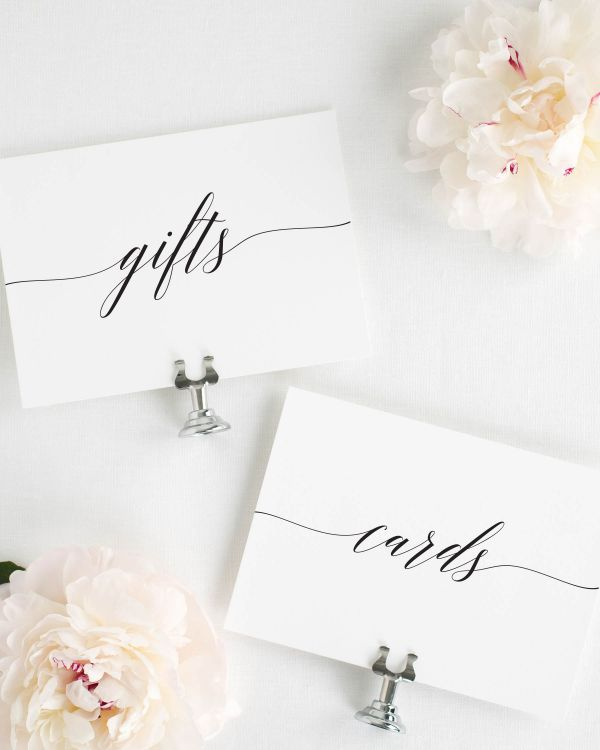 Delicate Romance Wedding Signs Package