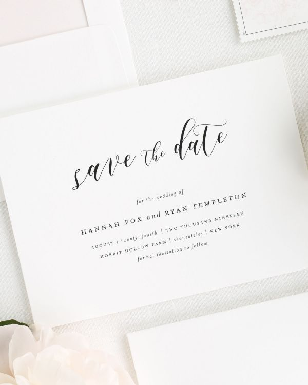 Everly Save the Date Cards